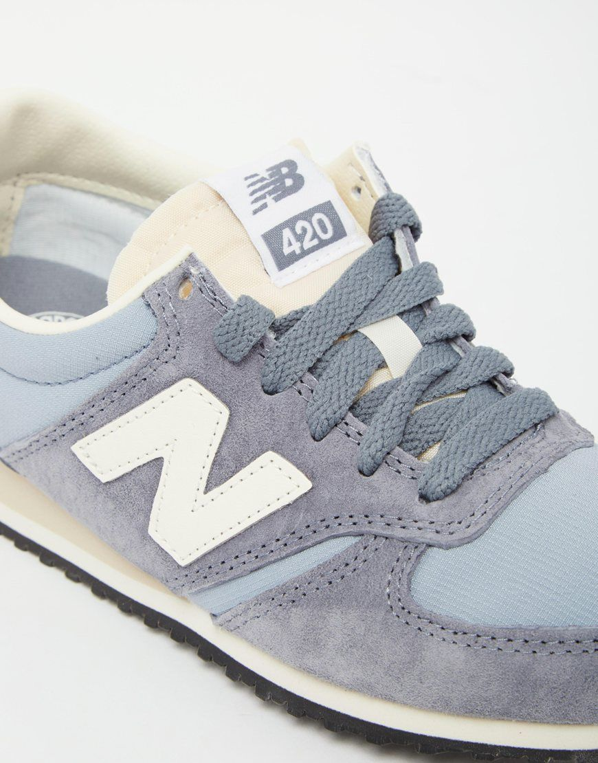 new balance 420 vintage trainers