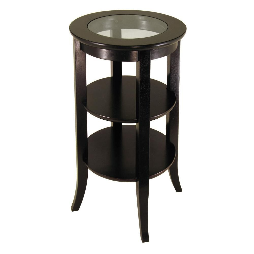 43+ Wood and glass coffee table round ideas