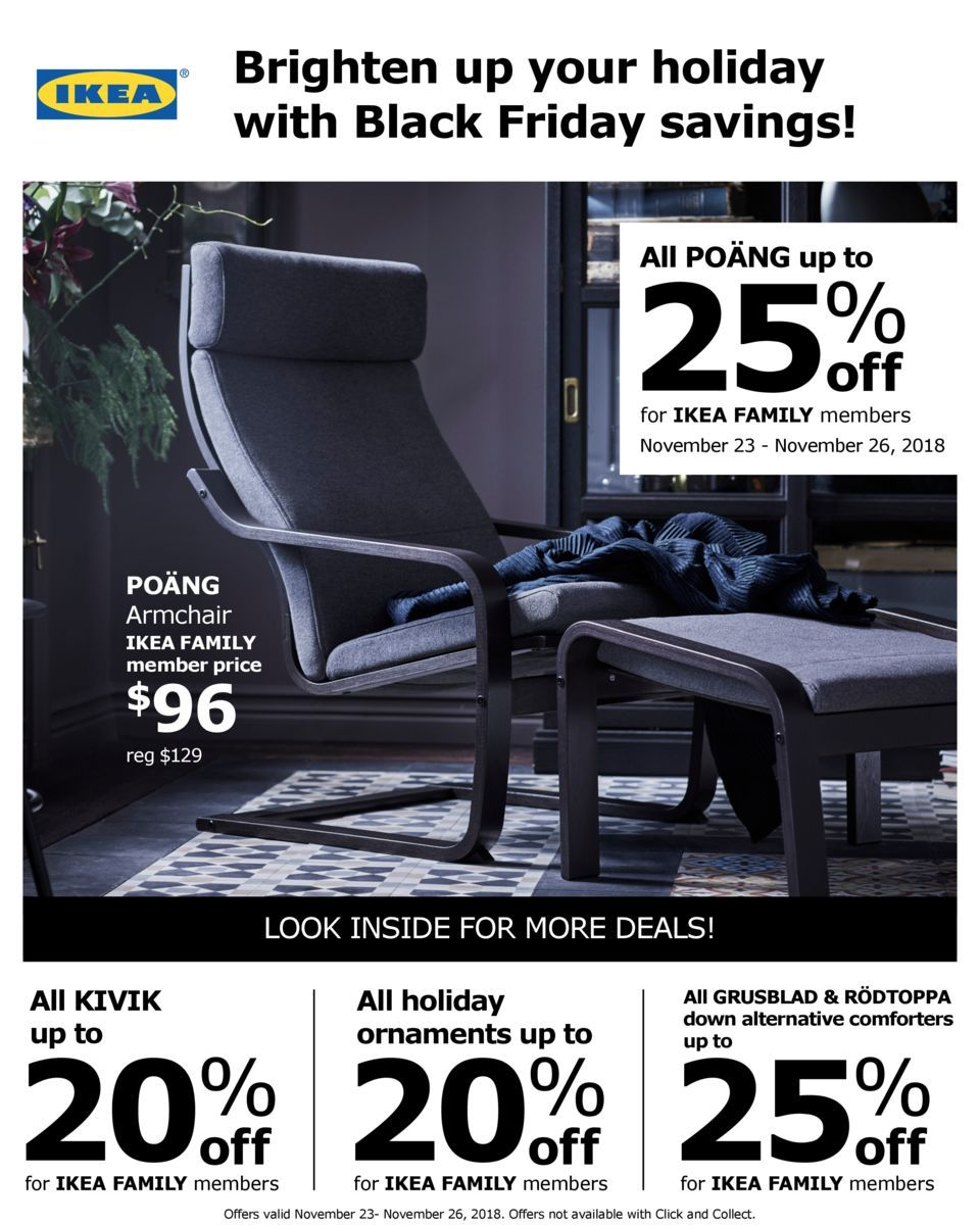Ikea 2018 Black Friday Ad Online Shopping Deals Ikea 2018 Ikea