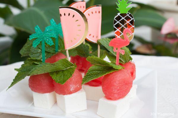 watermelon skewers
