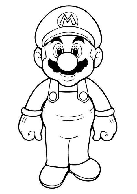 Mario Ausmalbilder 02 Ausmalbilder Jungs Ausmalbilder Ausmalen