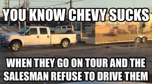 Pin By Keagan On Ford Chevy Jokes Ford Humor Truck Memes