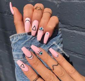 uñas acrilicas diseños 2019  queen 1111  uñas para