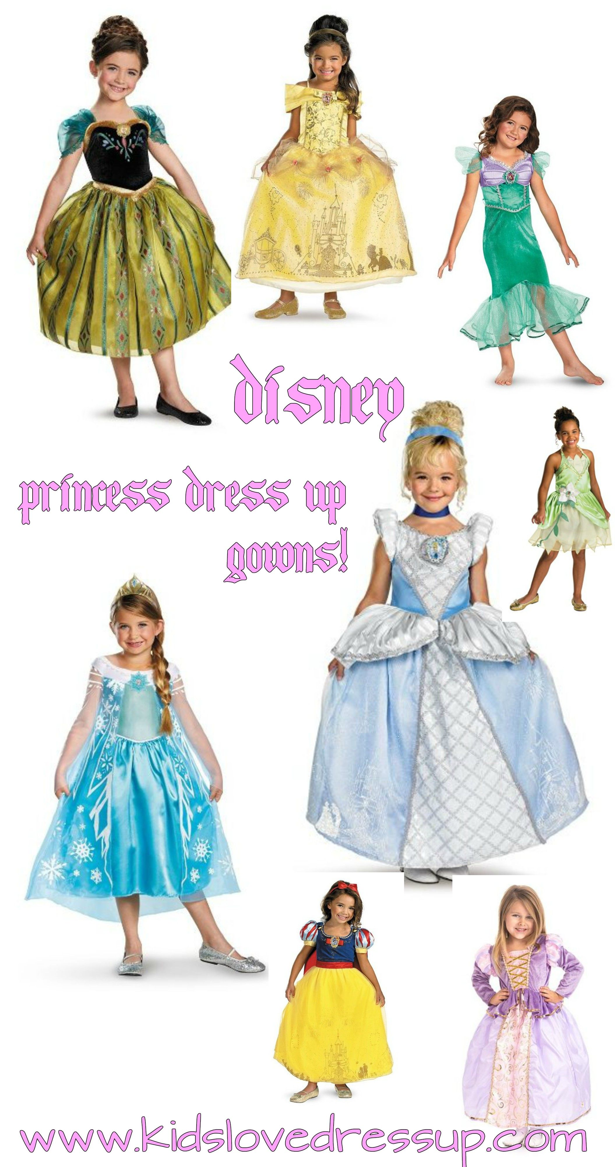 Disney Princess Gowns - they are all the rage, and they get played