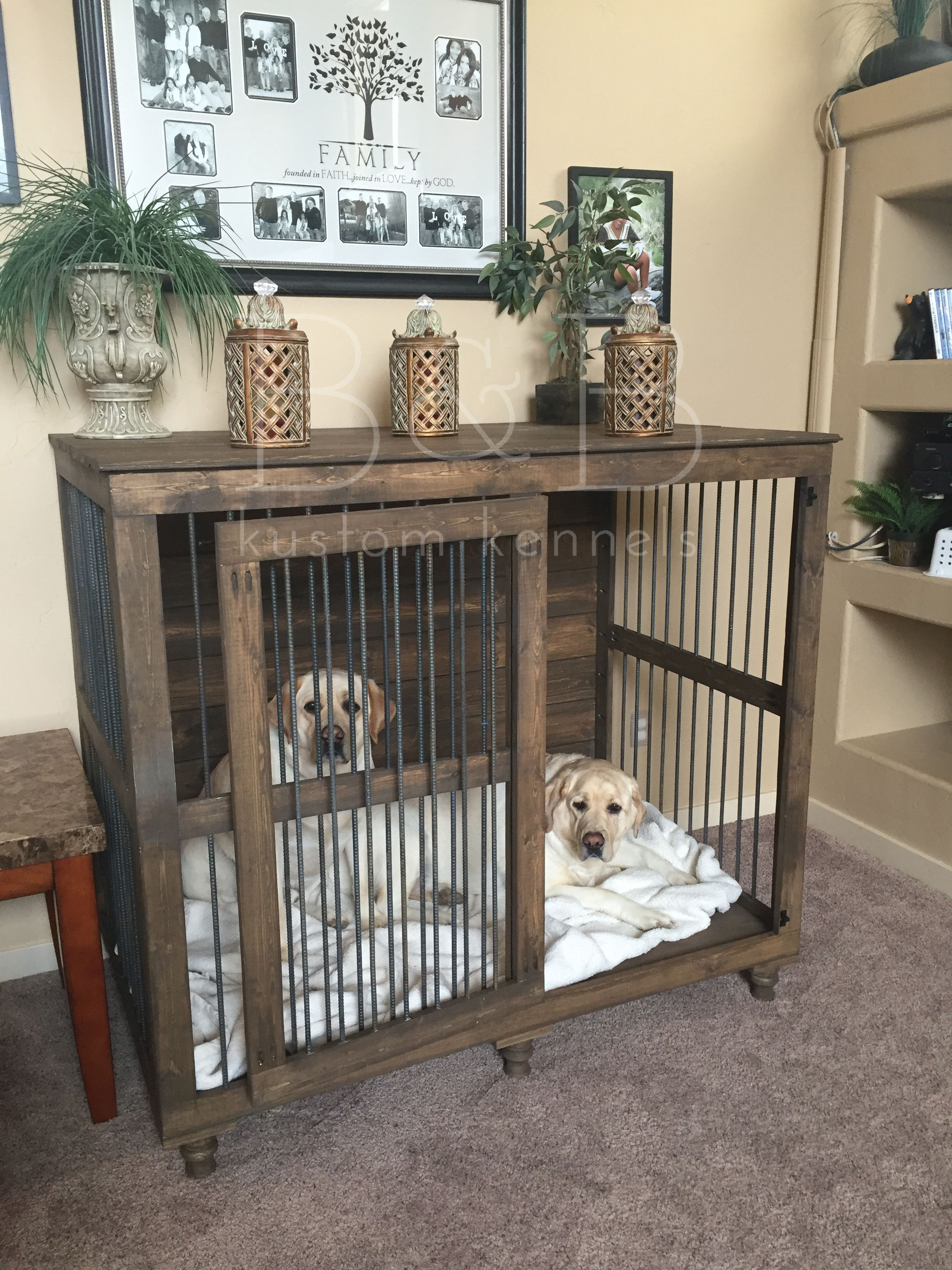 Xxl Single Not Just For Giant Breeds Dog Kennel Furniture Crate
