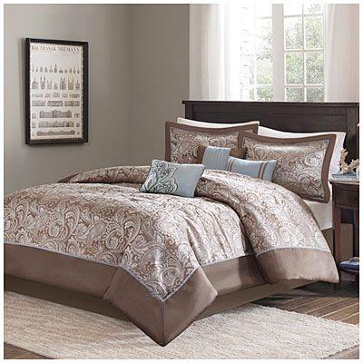 Aprima™ Queen Aubrey 7-Piece Comforter Set at Big Lots Decor