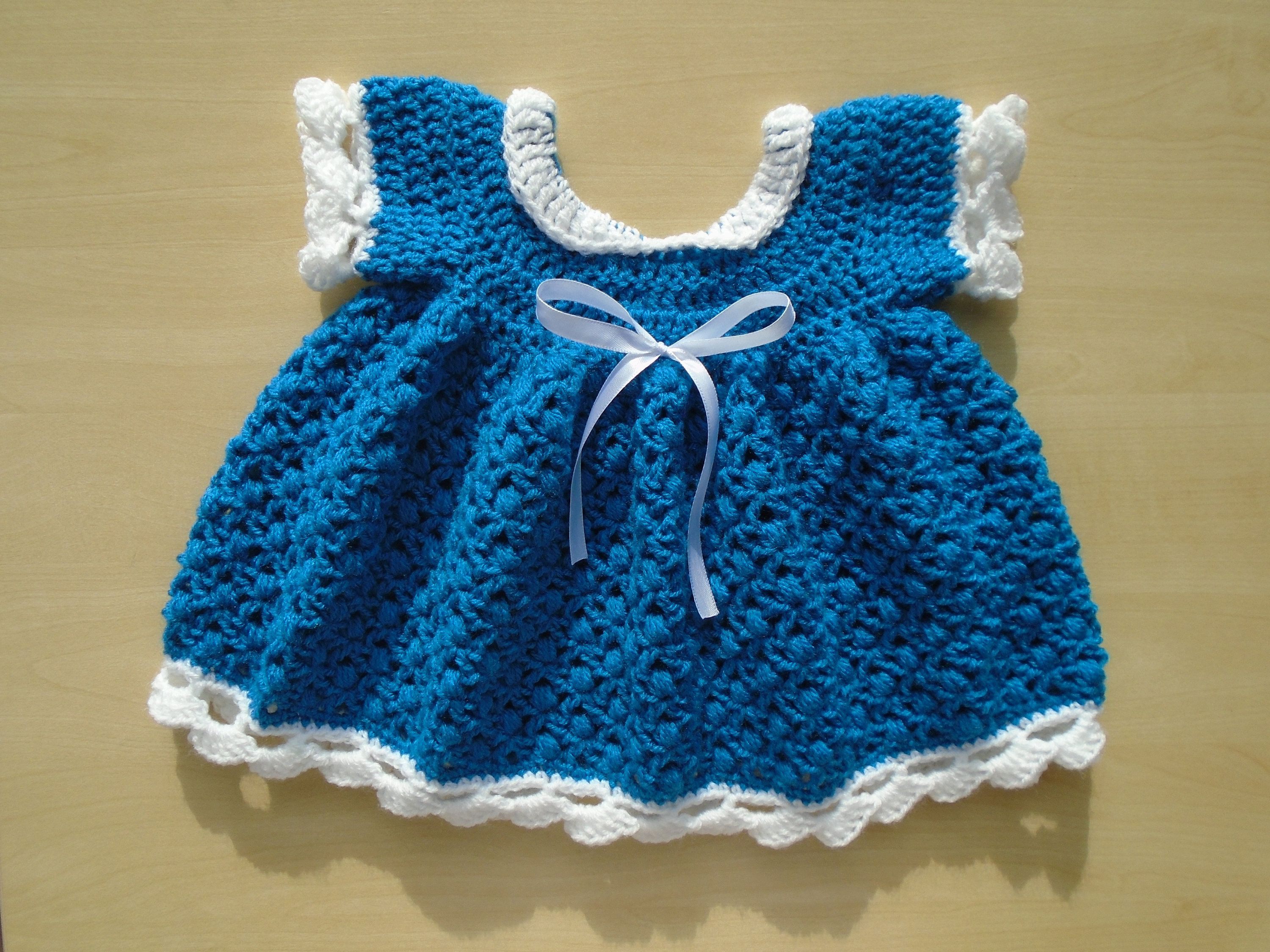 and Hat  Baby Girl Sweater   Christmas Baby Girl Bluebell Baby Dress Outfit 0-6 Months  Crocheted Baby Dress Cardigan