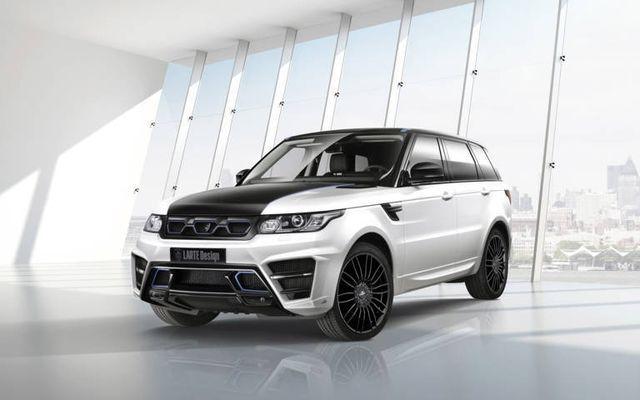 Range Rover Sport Winner by Larte Design Frente y lado fx