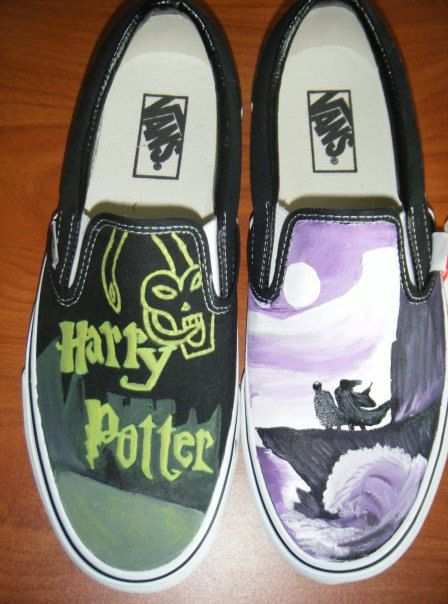 2585b51e280d Harry Potter Vans Harry Potter Merchandise
