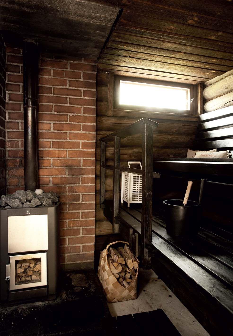 Sauna suojaisan pihan syleilyssä | Koti ja keittiö