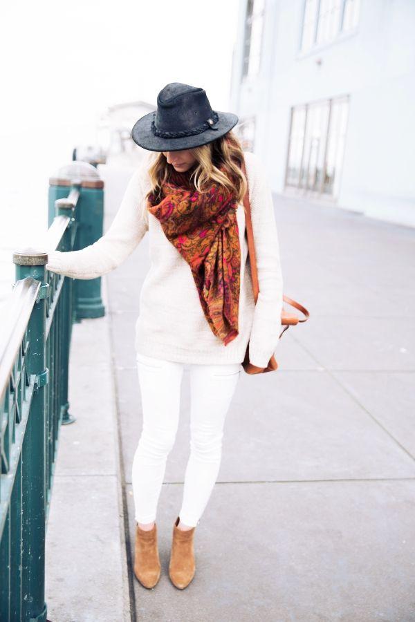 40 Noch Kopiert werden, Boho Winter-Outfits - http://deutschstyle.net/2017/10/12/40-noch-kopiert-werden-boho-winter-outfits.html