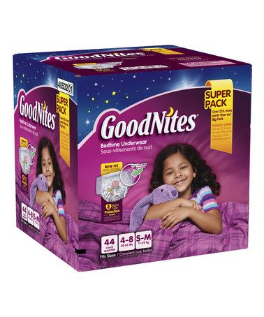 Look at this #zulilyfind! Girls Small/Medium Bedtime 44-Ct. Underwear Pack #zulilyfinds
