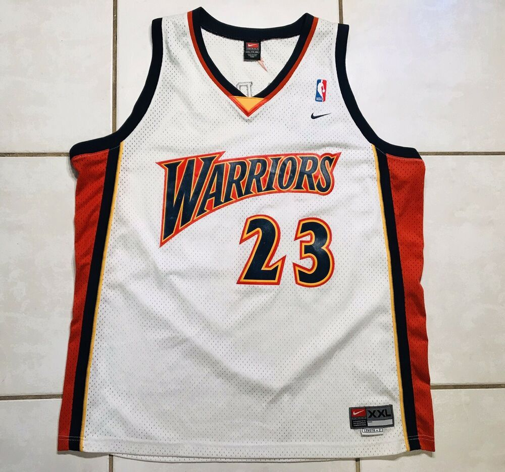 best cheap 400df d0df9 Details about Vintage NIKE Golden State Warriors Jason ...