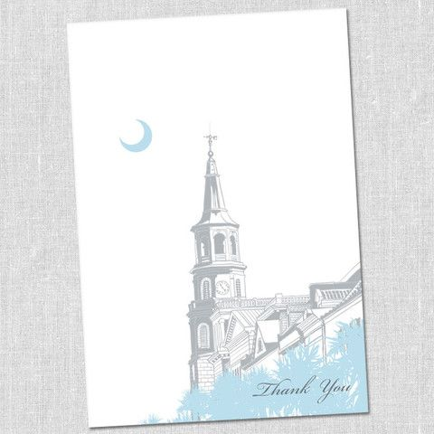 Charleston Thank You Notes by South City Press