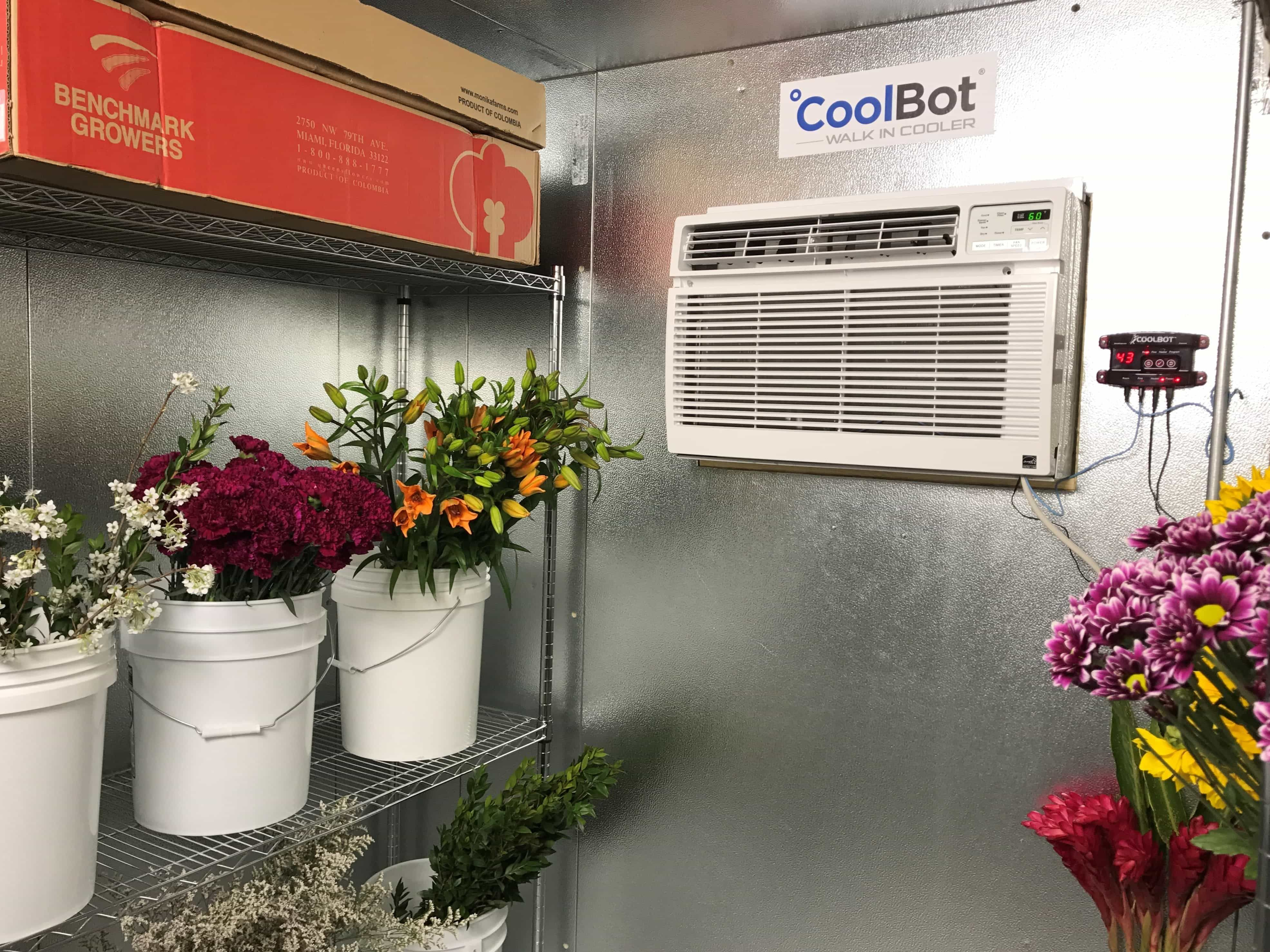 Floral WalkIn Coolers The CoolBot by Store It Cold