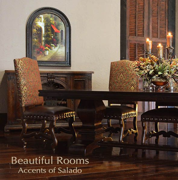 Tuscan Dining Room Table And Chairs Online At Accents Of Salado Tuscan Decorating Tuscan Dining Rooms Mediterranean Home Decor