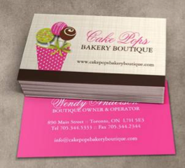 Fully customizable cake pop business card templates designed by fully customizable cake pop business card templates designed by colourful designs inc reheart Images