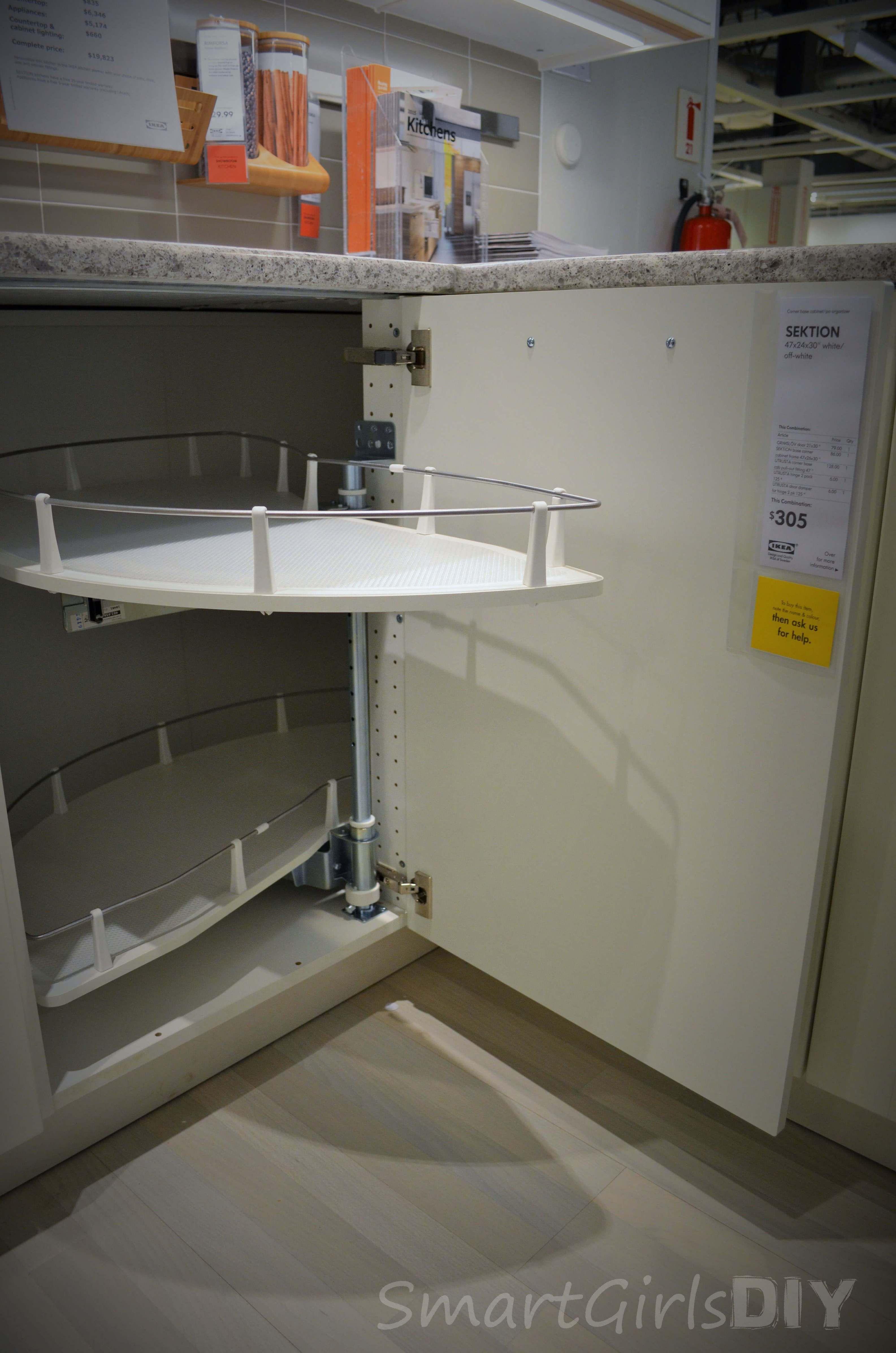 Corner base kitchen cabinet  SEKTION UTRUSTA corner base cabinet  our kitchen  Pinterest  Base