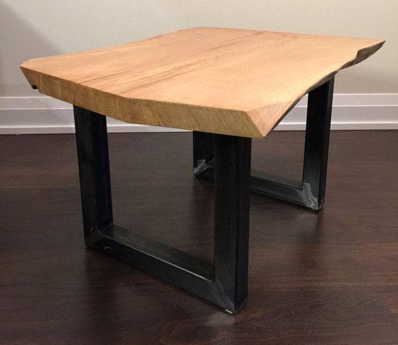 U Style Raw Steel Tube Metal Coffee Table Legs By