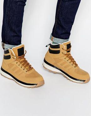 adidas originals mens chasker boots burgundy/black