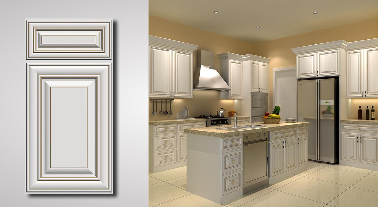 arlington oatmeal with caramel glaze cabinets | procraft cabinetry