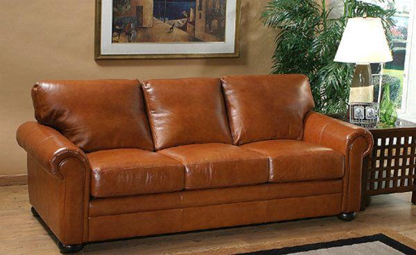 Arizona Leather Furniture   GEORGIA   LEATHER SOFA