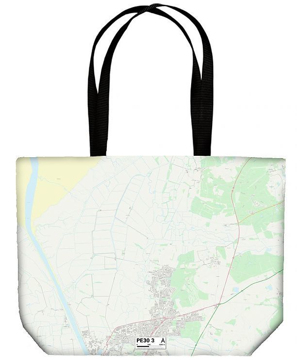Shopping Bag West Norfolk PE30 3 Map