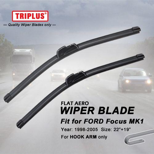 Wiper Blade For Ford Focus Mk1 1998 2005 1set 22 19 Flat Aero Beam Windscreen Wiper Frameless Soft Wiper Blade Wiper Blades Windscreen Wipers Nissan Almera