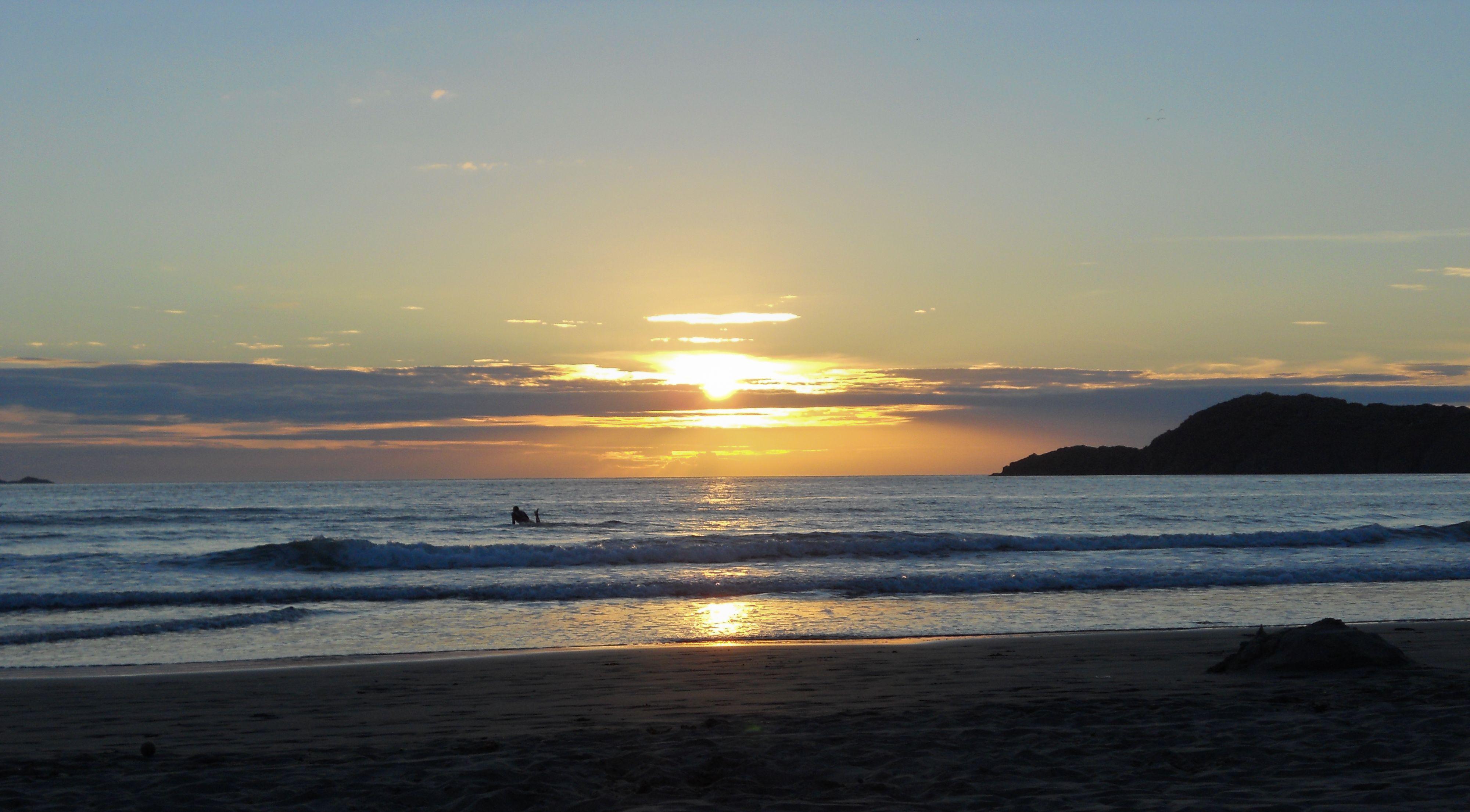 Sunset on Whitesands Beach, Wales