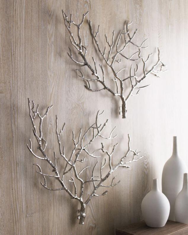 Diy Tree Branches Home Decor Ideas Dekor Iz Vetvej Dekor Sten