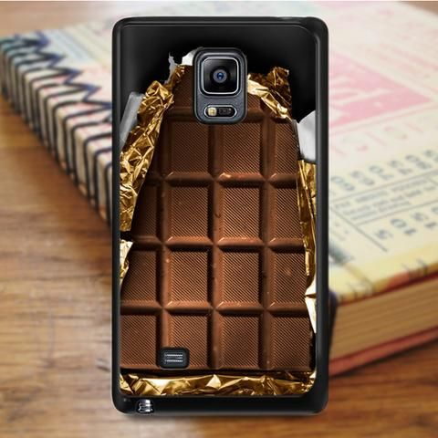 Chocolate Bar Coco Food Samsung Galaxy Note 4 Case