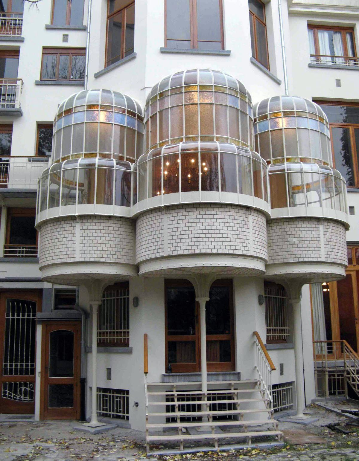 Art nouveau hotel max hallet bruxelles victor horta for Art deco jardin