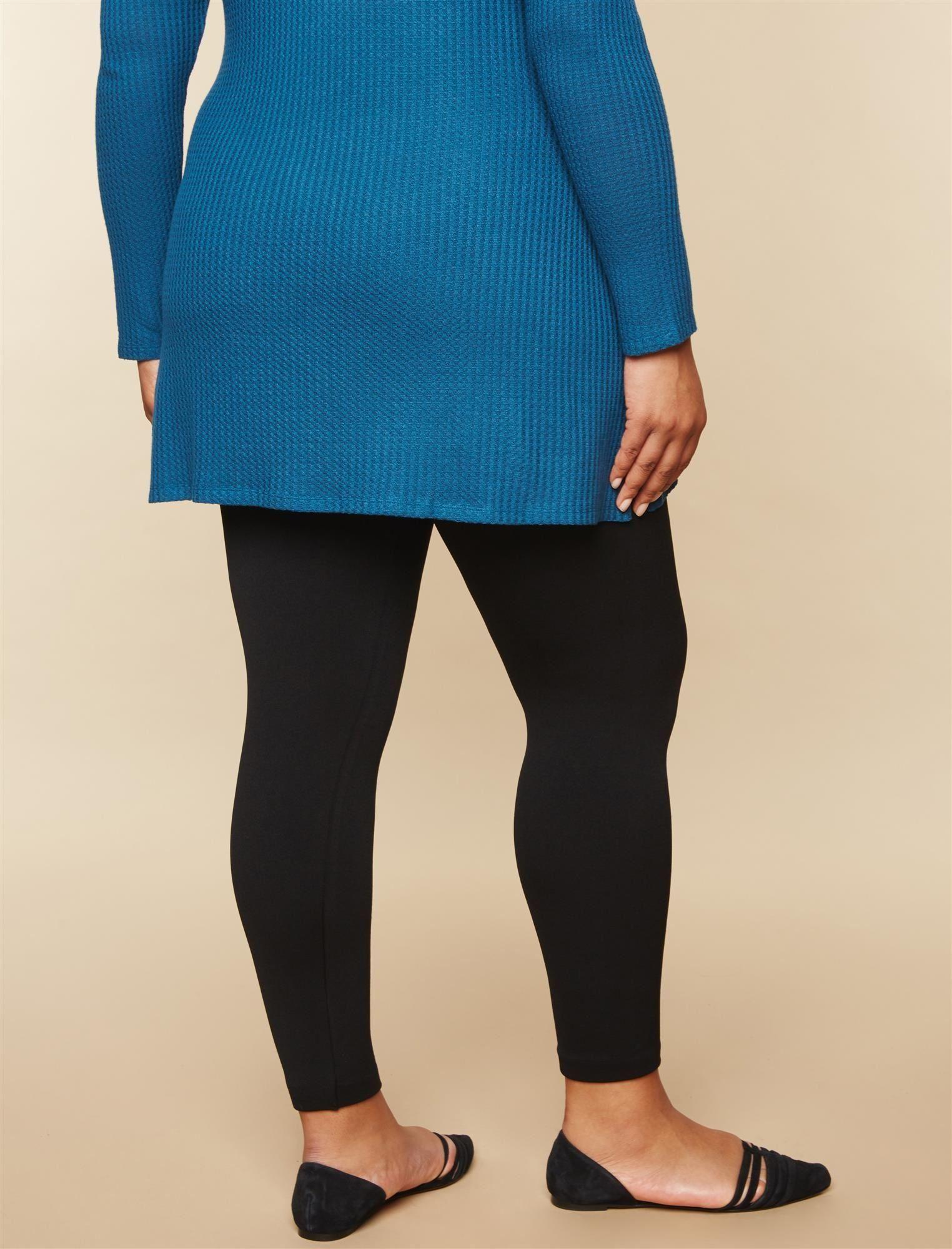 a293aef2e864a Maternity Outfits - dressy maternity leggings : Motherhood Maternity Womens  Maternity PlusSize Full Length Fleece Lined Seamless Leggings Black 1X **  Click ...