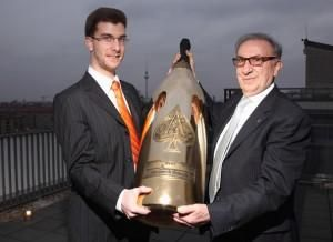 Nebuchadnezzar of Armand de Brignac Midas weighing 45