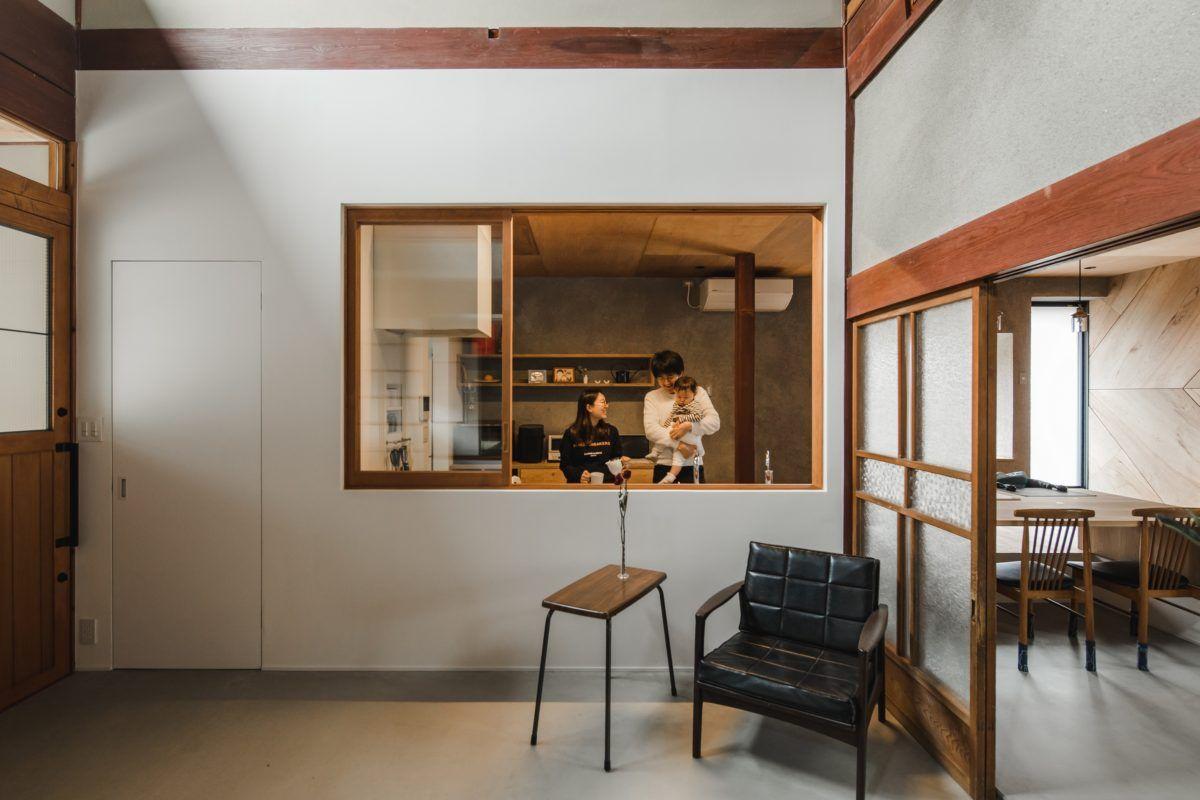 下戸山の家リノベーション 滋賀県 建築設計事務所 建築家 Alts