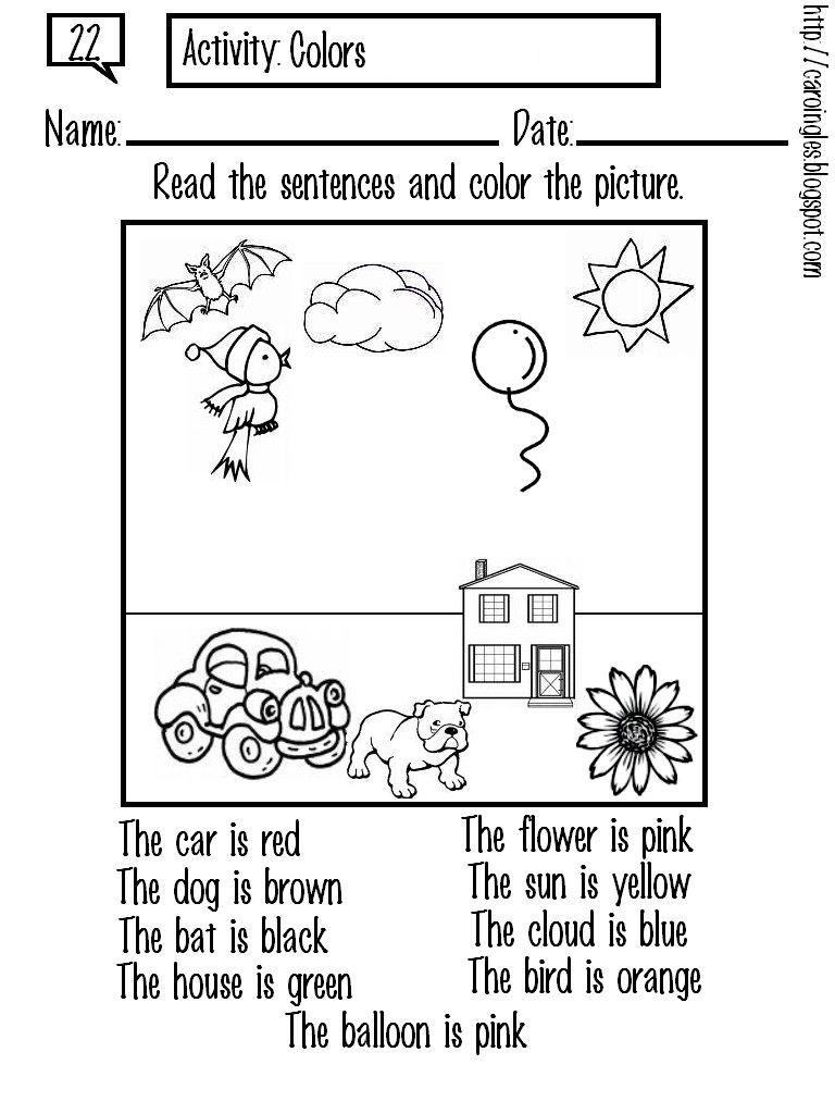 Colouring English Teacher Resources English Activities Grammar For Kids [ 1024 x 768 Pixel ]