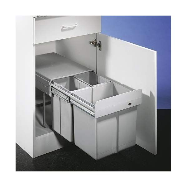 Wesco Trio Master 787821 85 Einbau Abfallsammler Abfalleimer Mulleimer Haushalt Abfallsammler Einbau Abfallsammler Abfalleimer