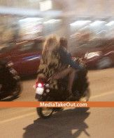 Photos of Beyonce Riding Jay-Z on a South Beach Scooter New Years Eve