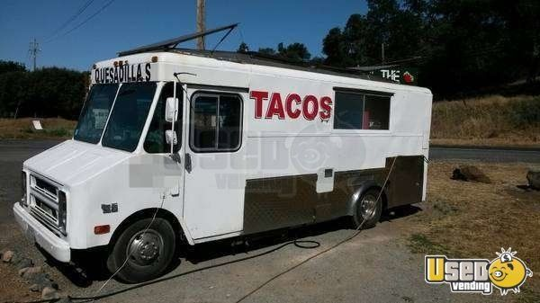 Chevy Food Truck Taco Truck In California Chevy Trucks Chevy