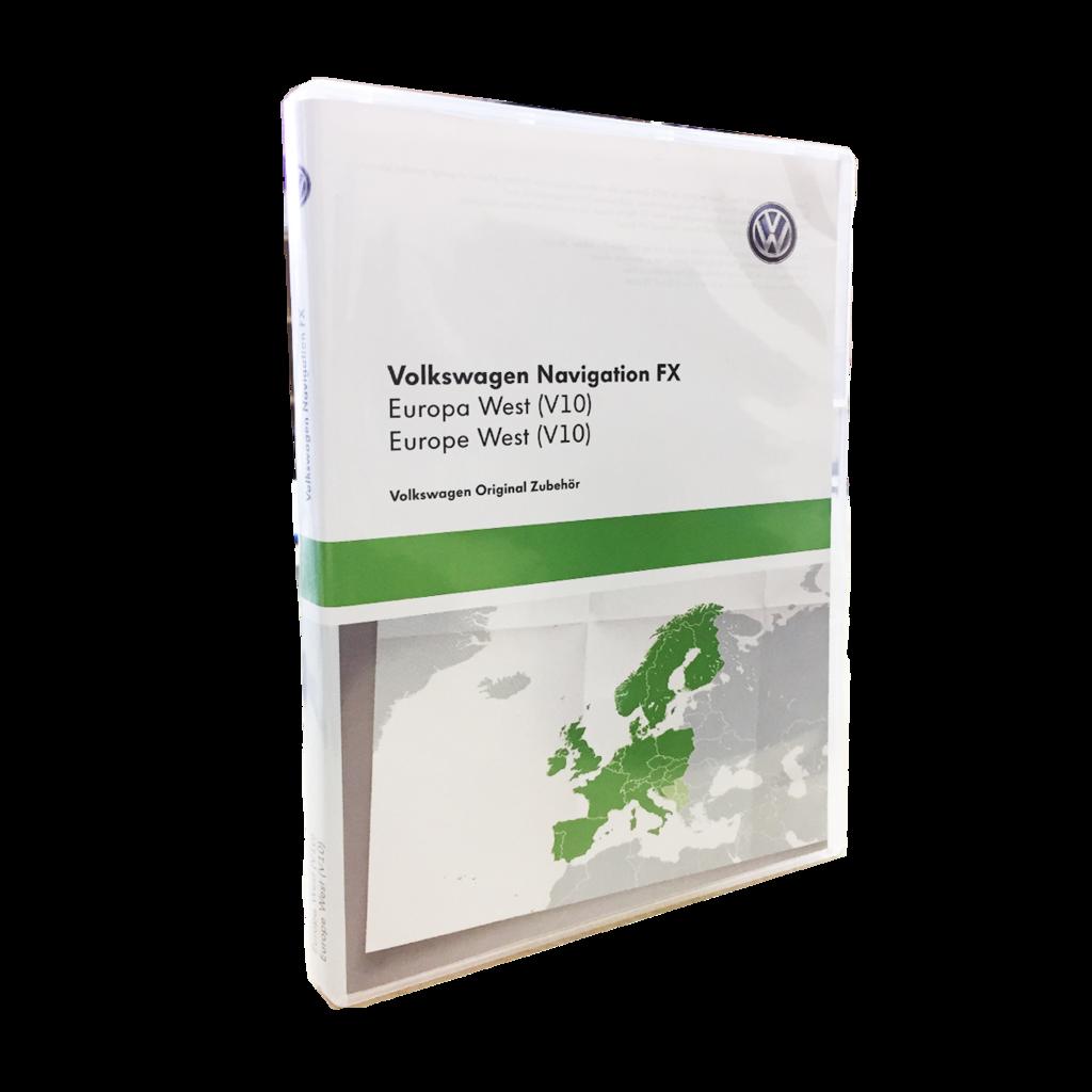 Vw Sd Karte.Volkswagen Rns 310 Westeuropa V10 Navigation Landkarte Sd Karte