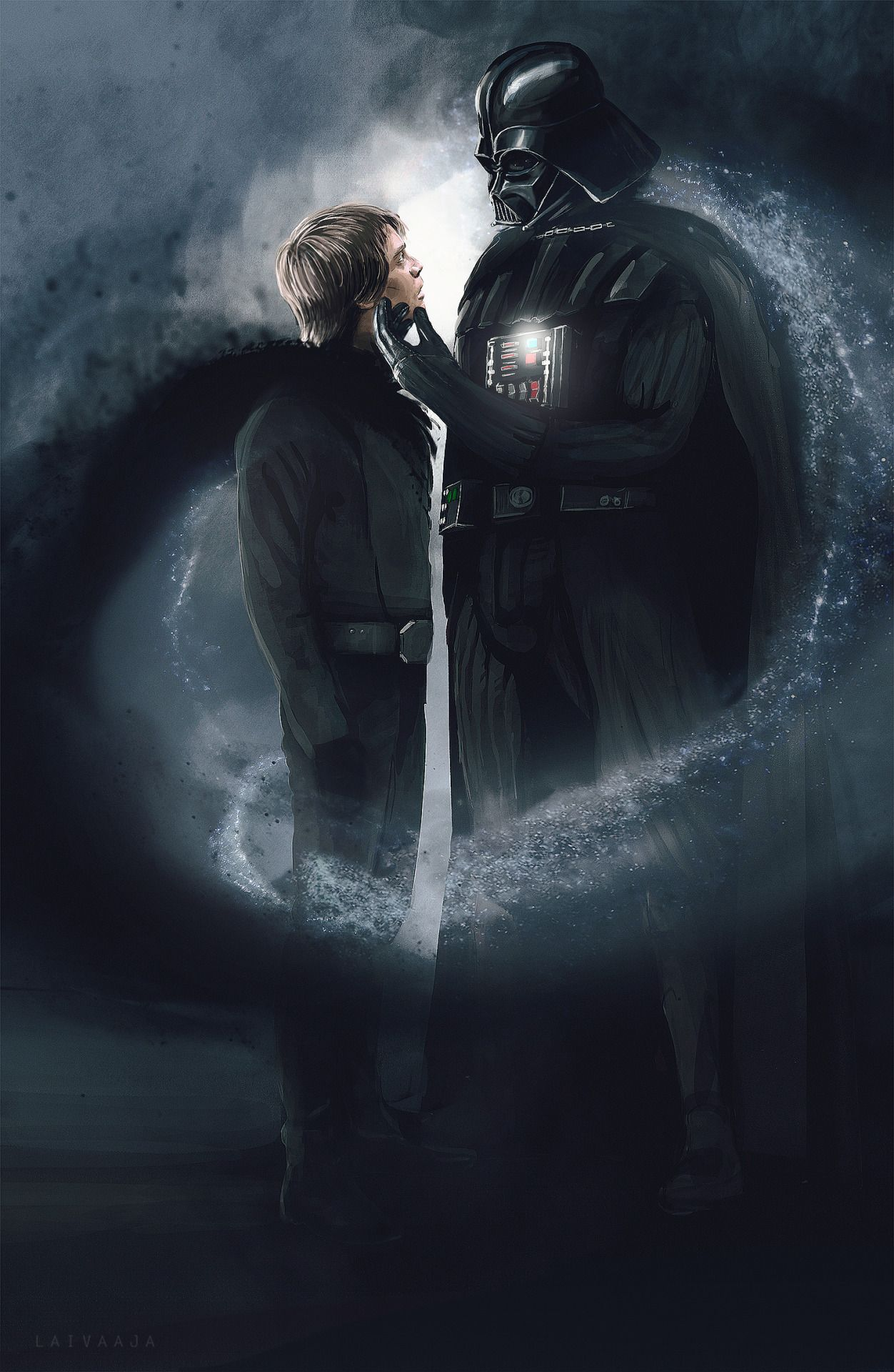 My Visualization Attempts Of A Great Vader Luke Fic Continue If You Have Not Yet Read The Latest Star War Star Wars Pictures Star Wars Images Star Wars Poster