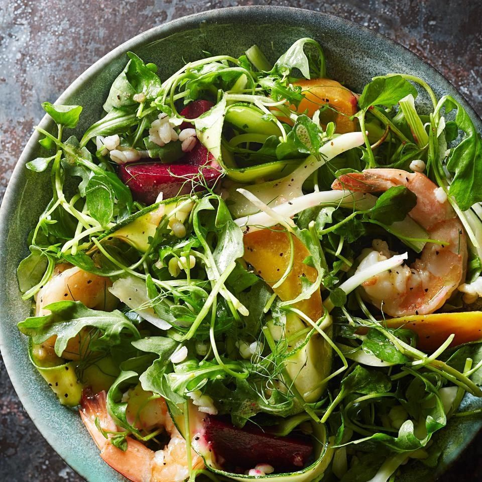 beet & shrimp winter salad | recipe | dinner salad recipes, red wine