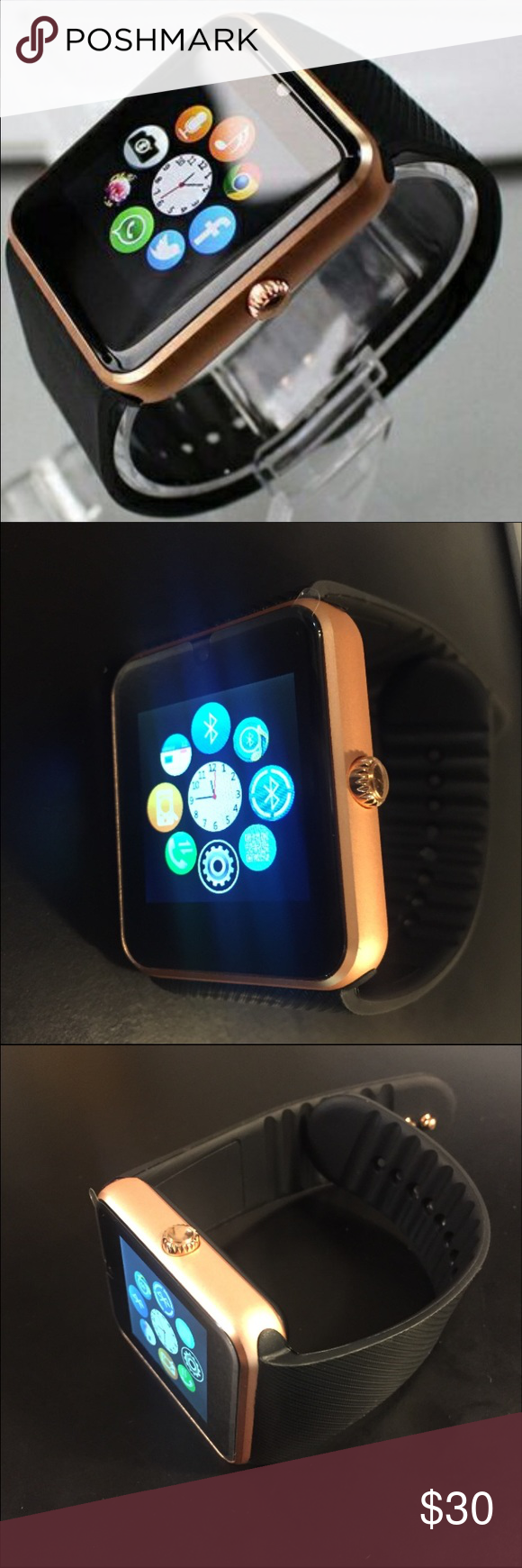 New Smart Watch RoseGold New Smart Watch CompatibleAll