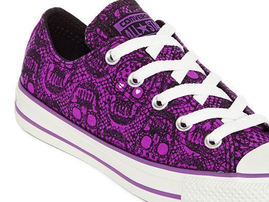 Purple sneakers, Converse chuck taylor