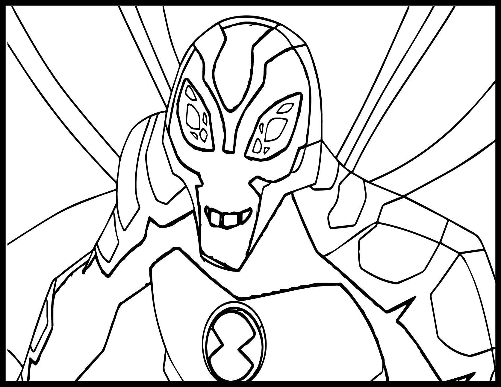 cool Ben Ten Alien Force Big Chill By Flutterfly Coloring ...