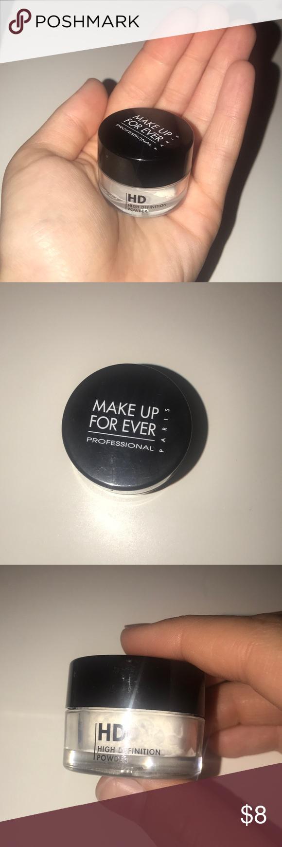 HD Setting Powder Mini New, unused Makeup Forever mini HD