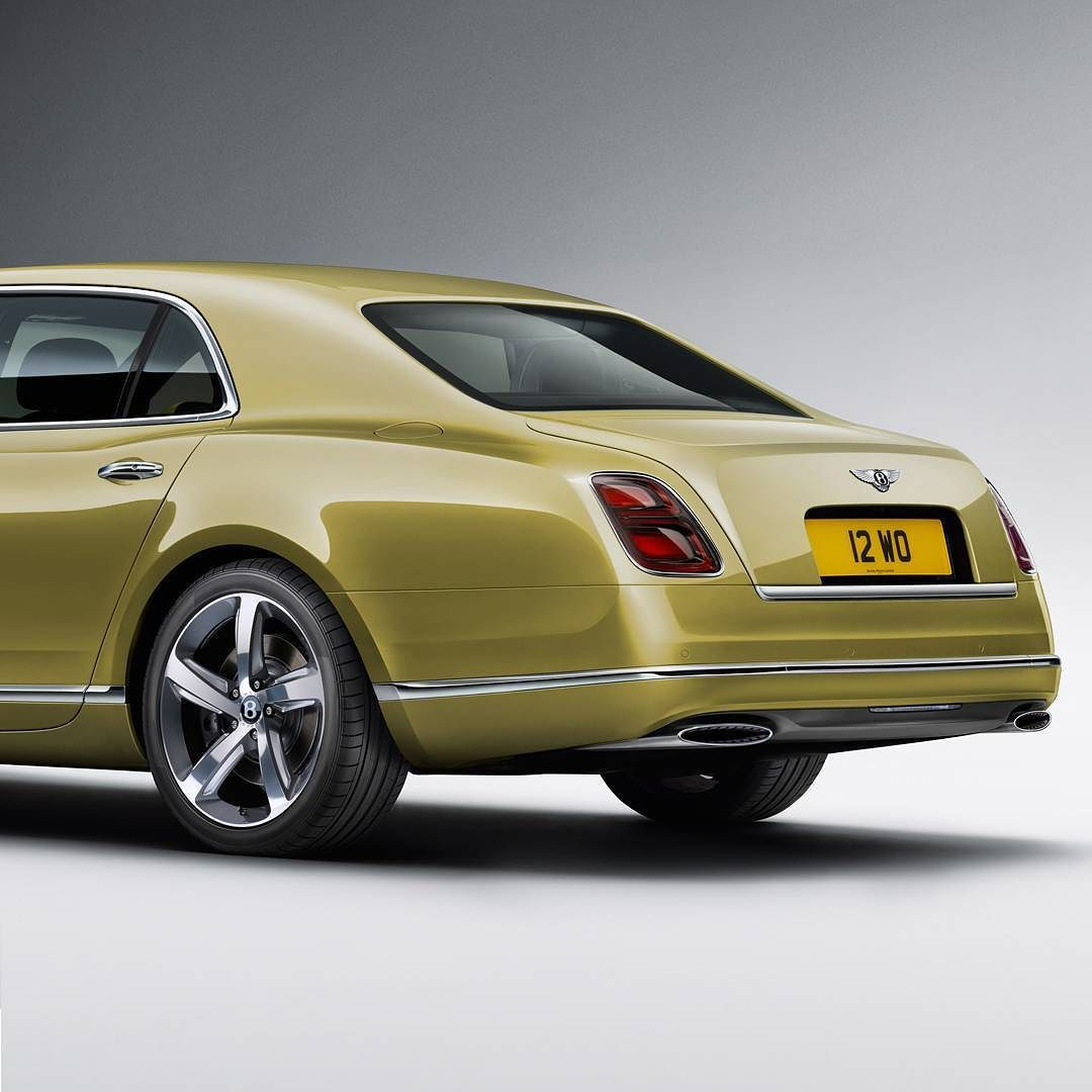 The New #Mulsanne Has The Unmistakable Bentley Haunch