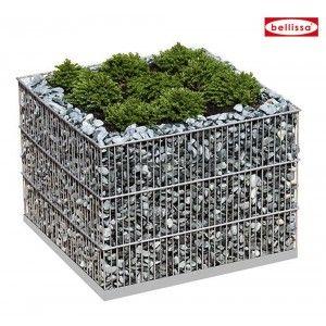 jardini re ronde gabion 40 cm sans galet bac jardini res et carr s. Black Bedroom Furniture Sets. Home Design Ideas