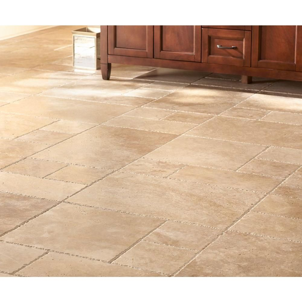 Ms international mediterranean walnut pattern honed unfilled chipped ms international mediterranean walnut pattern honed unfilled chipped travertine floor and wall tile dailygadgetfo Image collections
