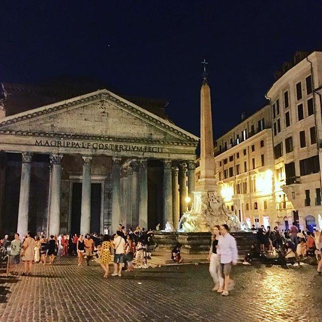 The Pantheon #rome #roma #architecture #art #italytrip #italy #nightphotography #travel